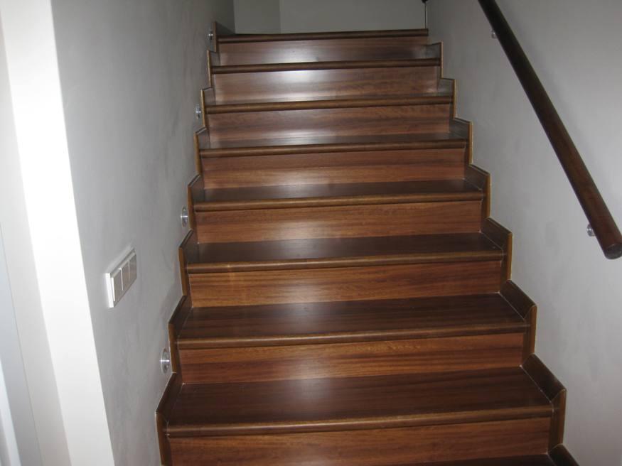 Ahşap Merdiven Kaplama