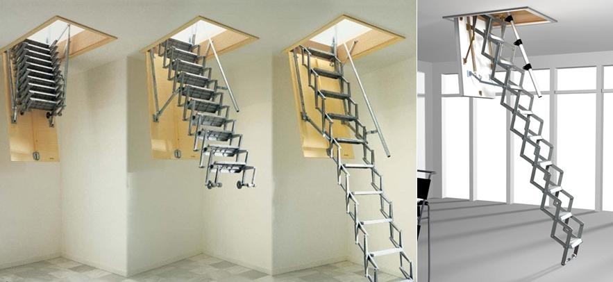 Elektrikli Çatı Merdivenleri