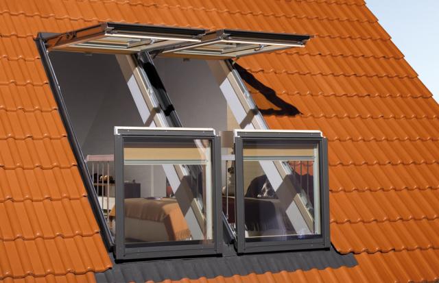 Fakro Balkon Tipi Çatı Pencereleri