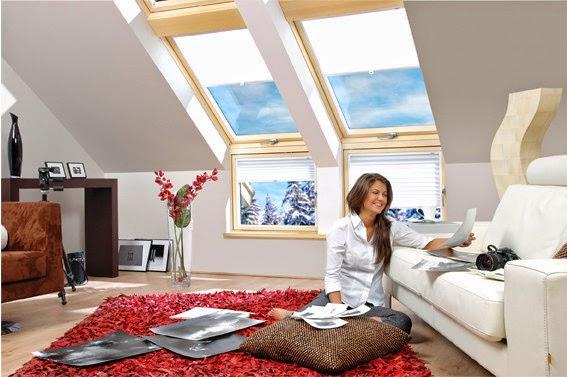 L Kombinasyon Fakro Çatı Pencere Modeli