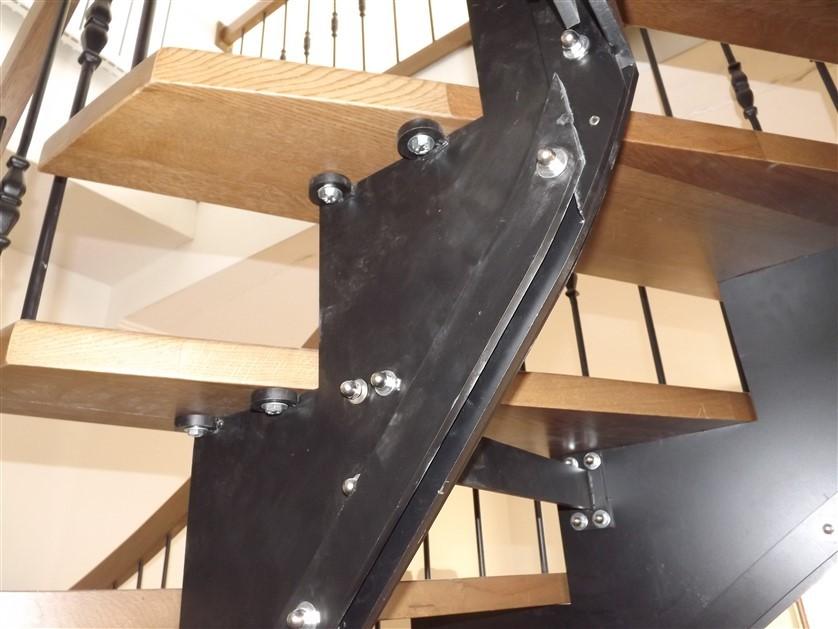 çelik merdiven detayları